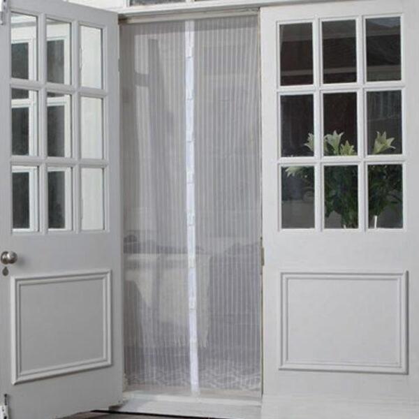 magnetic screen door white
