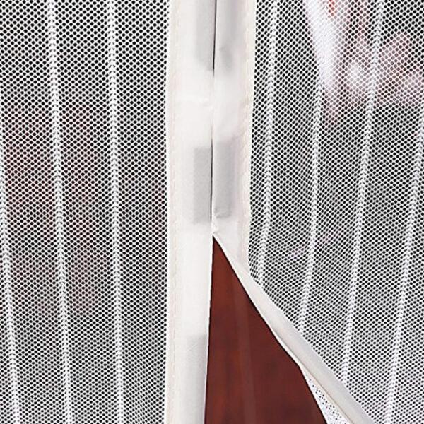 white magnetic screen doors